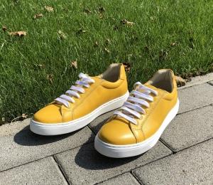 Pantofi casual dama 564 Galben1