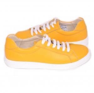 Pantofi casual dama 564 Galben4