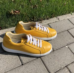 Pantofi casual dama 564 Galben0
