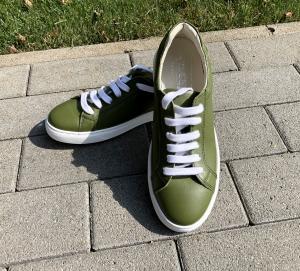 Pantofi casual dama 564 Verde1