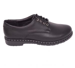Pantofi casual dama 592 Negru0