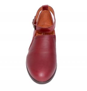 Pantofi confortabili dama 557 Bordo2
