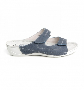 Papuci confortabili Batz Olivia EX1K5 Albastru1