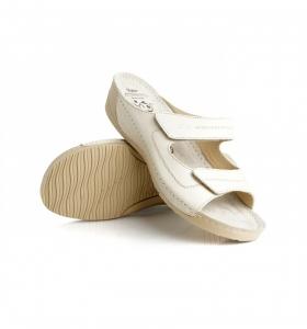 Papuci confortabili Batz Olivia EX1K5 Bej2
