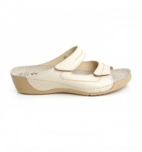 Papuci confortabili Batz Olivia EX1K5 Bej1
