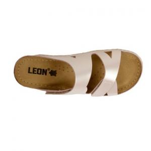 Papuci confortabili dama Leon 906 Perla3