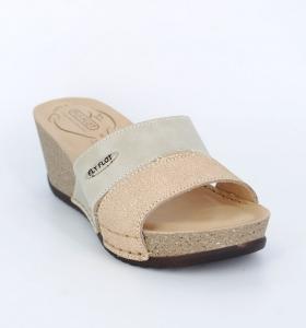 Papuci confortabili Fly Flot EXS0404 Bej1