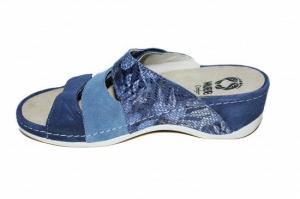 Papuci cu talpa ortopedica 701-18 Albastru4