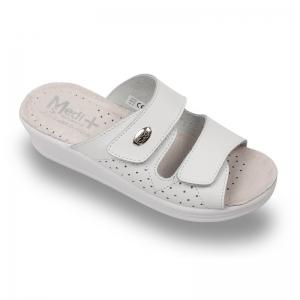 Papuci dama Medi+ 410SB Alb