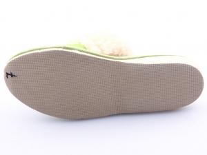 Papuci de casa 103 Verde2