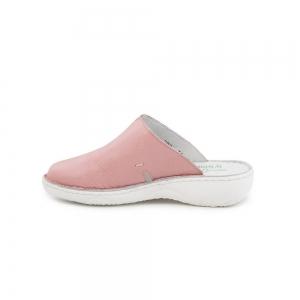 Papuci medicinali de piele Medline, Roz2
