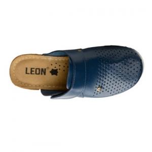 Saboti medicali dama - Leon 1001 Albastru