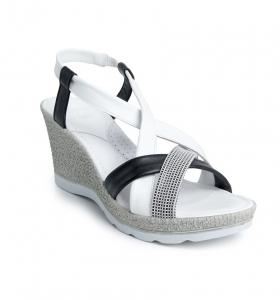Sandale confortabile Batz Malibu EXS100 Alb0