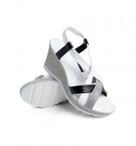 Sandale confortabile Batz Malibu EXS100 Alb2