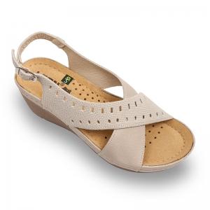 Sandale confortabile Leon 1030 Bej