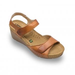 Sandale confortabile Leon 1041 Maro