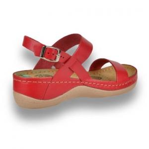 Sandale confortabile Leon 920 Rosu3