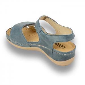 Sandale confortabile Leon 935 Albastru1