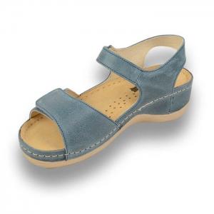 Sandale confortabile Leon 935 Albastru3