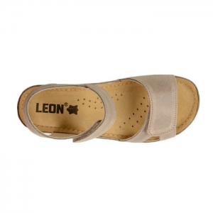 Sandale confortabile Leon 935 Gri-Maroniu4