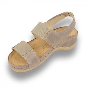 Sandale confortabile Leon 945 Gri-Maroniu1