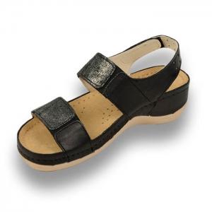Sandale confortabile Leon 945 Negru