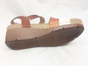 Sandale cu talpa ortopedica 1020 Maro