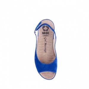 Sandale cu talpa ortopedica 505 Albastru2