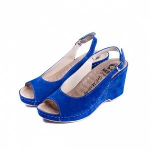 Sandale cu talpa ortopedica 505 Albastru1