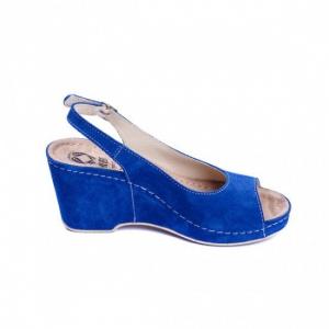 Sandale cu talpa ortopedica 505 Albastru0