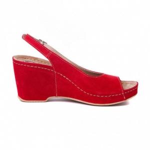 Sandale cu talpa ortopedica 505 Rosu1