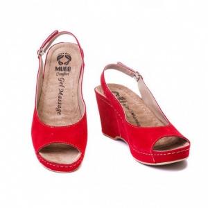 Sandale cu talpa ortopedica 505 Rosu0
