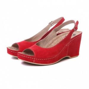 Sandale cu talpa ortopedica 505 Rosu2