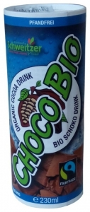 SCHWEITZER REINHARD - Choco Bio Bautura din cacao, 230 ml