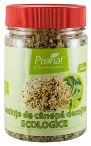 Seminte de canepa decojite, Bio, 150 g