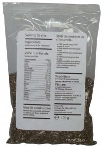 Seminte de chia, 100 g
