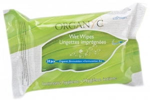 Servetele intime Organyc din bumbac organic-20 buc