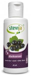 Stevia Indulcitor din stevie cu aroma naturala de coacaze, 40ml