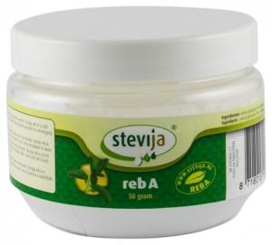STEVIJA reb A - Indulcitor pudra din stevie, foarte concentrat, 50 g