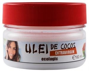 Ulei de cocos Bio extravirgin, 60 ml
