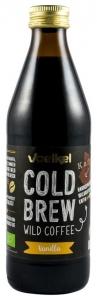 Cafea salbatica macerata la rece, cu vanilie, bio si Fair Trade, 0,33l