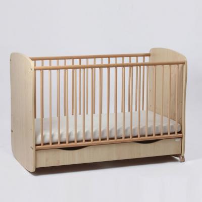 Patut bebe reglabil pe 3 nivele de inaltime Clasic Confort cu saltea inclusa Clasic