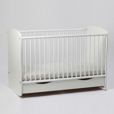 Patut bebe reglabil pe 3 nivele de inaltime Clasic Confort cu saltea inclusa