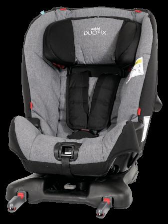 AxKid DuoFix. De la 9 - 25 kg (de la 7 luni-75 cm la 5-7 ani). Prindere în Isofix sau cu centură. Omologat rear facing până la 25 kg.1