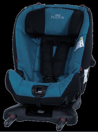 AxKid DuoFix. De la 9 - 25 kg (de la 7 luni-75 cm la 5-7 ani). Prindere în Isofix sau cu centură. Omologat rear facing până la 25 kg.