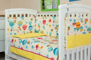 Kids Decor - Set complet lenjerie pat 120x60 cm