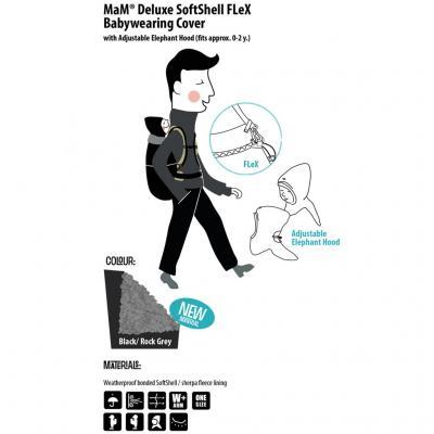 MaM - Protecție cu softshell (blăniță) pentru frig și ploaie.