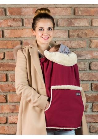 Isara - Protecție universală pentru vreme rece. Culoare Burgundy.0