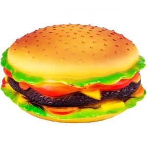 Jucarie pentru caini in forma de Hamburger