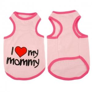 T-Shirt I Love My Mommy - Roz M